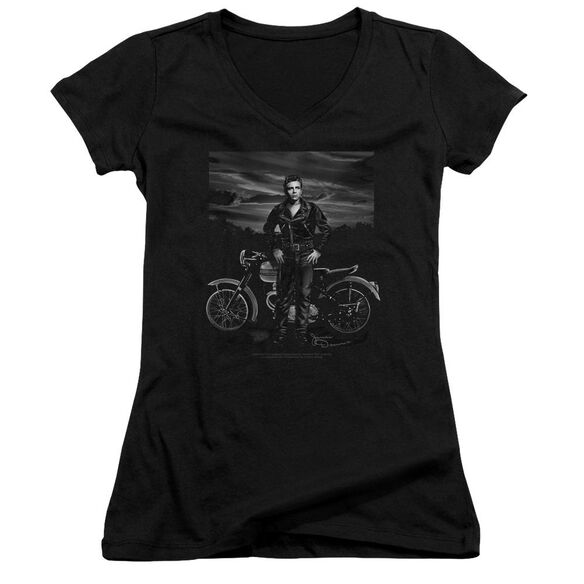 Dean Rebel Rider Junior V Neck T-Shirt