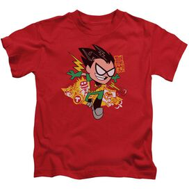 Teen Titans Go Robin Short Sleeve Juvenile T-Shirt