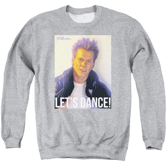 Footloose Lets Dance Adult Crewneck Sweatshirt Athletic