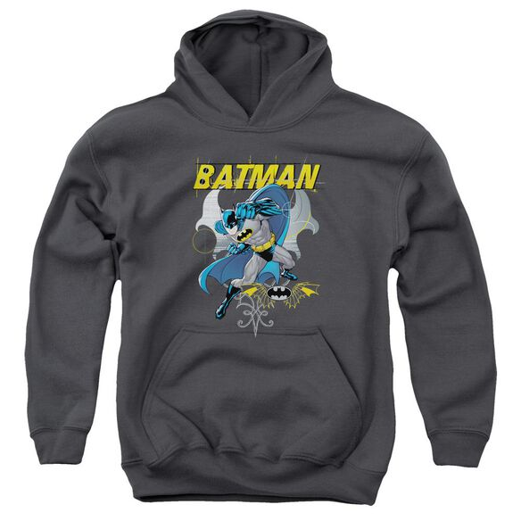 Batman Urban Gothic Youth Pull Over Hoodie