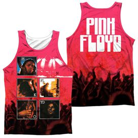 Pink Floyd Live (Front Back Print) Adult Poly Tank Top