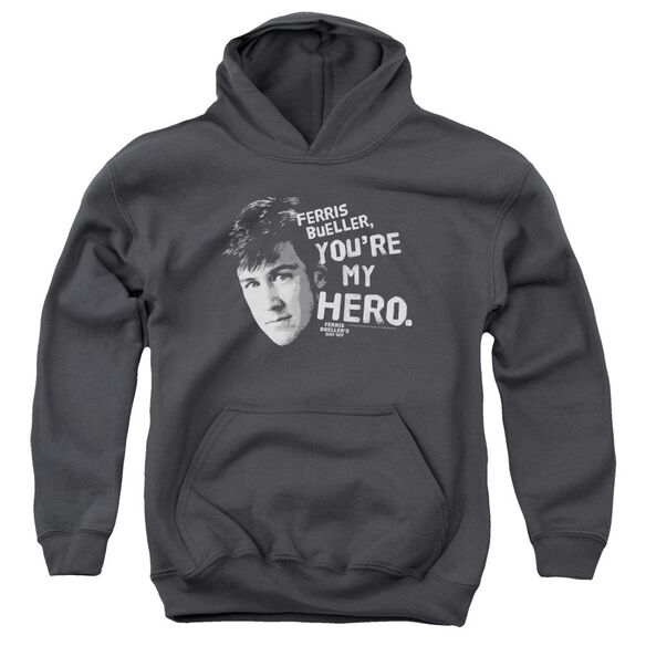 Ferris Bueller My Hero Youth Pull Over Hoodie