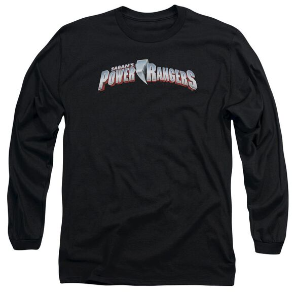 Power Rangers New Logo Long Sleeve Adult T-Shirt
