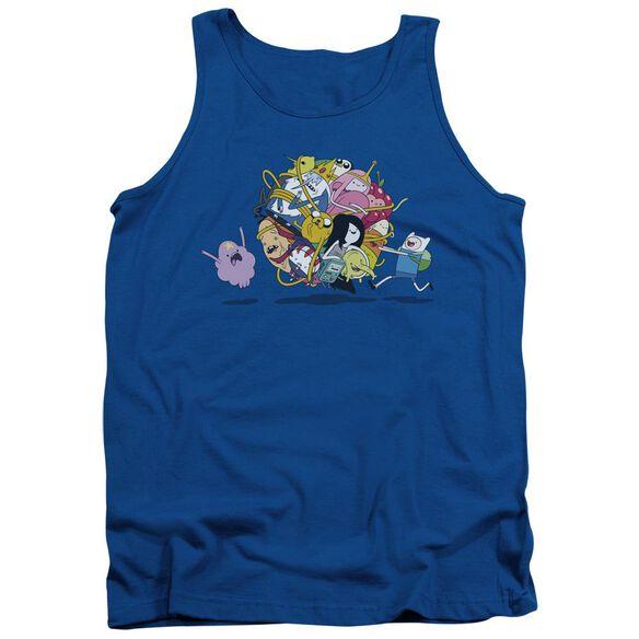Adventure Time Glob Ball Adult Tank Royal