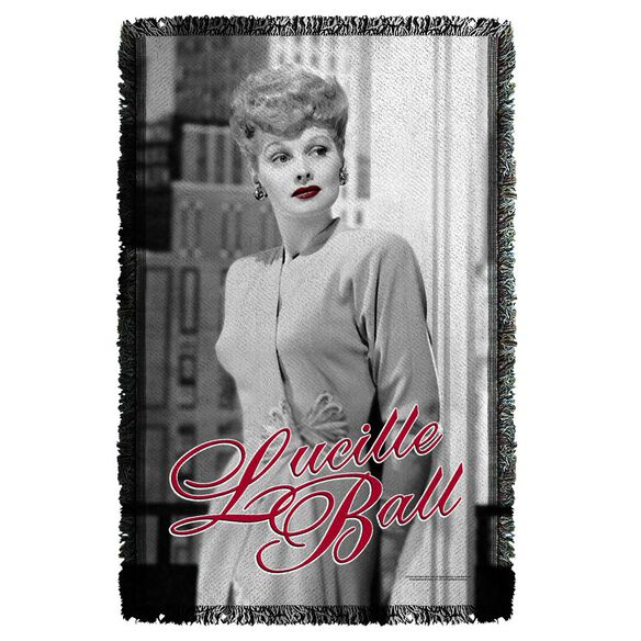 Lucille Ball City Girl Woven Throw