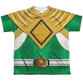Power Rangers Green Ranger Short Sleeve Youth Poly Crew T-Shirt