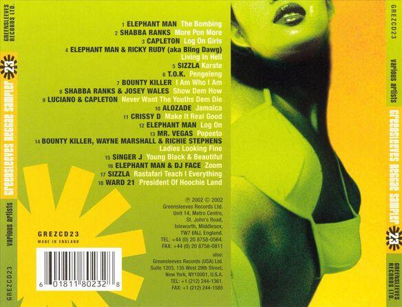 Greensleeves Reggae Sav23