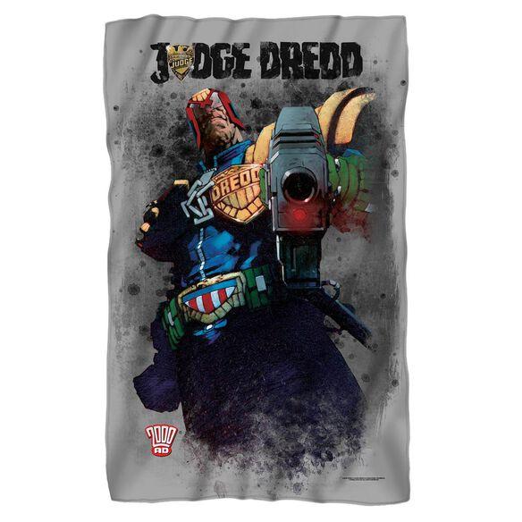 Judge Dredd Last Words Fleece Blanket
