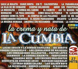 Various Artists - Crema y Nata de la Cumbia [Box Set]