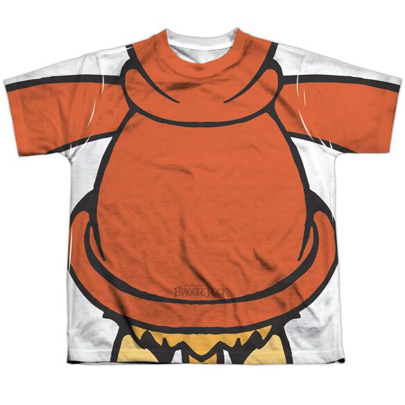 Fraggle Rock Red Uniform Short Sleeve Youth Poly Crew T-Shirt