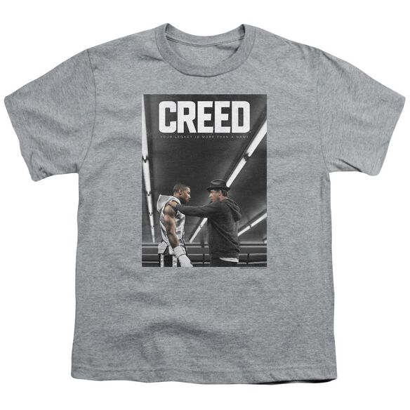 Creed Poster Short Sleeve Youth Athletic T-Shirt