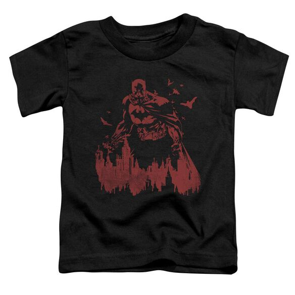Batman Red Knight Short Sleeve Toddler Tee Black Sm T-Shirt