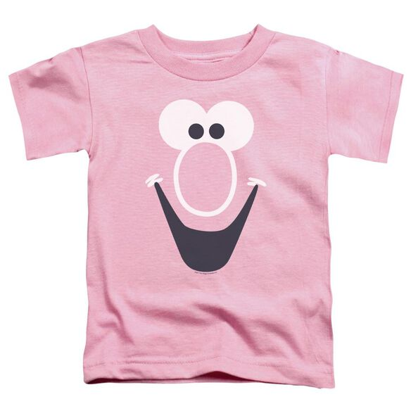 Mr Bubble Bubble Face Short Sleeve Toddler Tee Pink T-Shirt