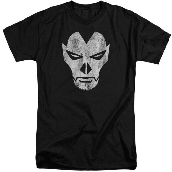 Shadowman Face Short Sleeve Adult Tall T-Shirt