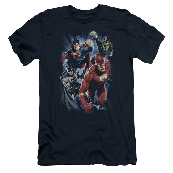 Jla Storm Chasers Short Sleeve Adult T-Shirt