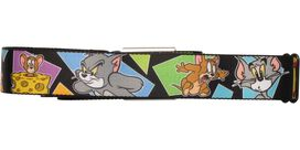 Tom and Jerry Cat and Mouse Game Seatbelt Mesh Belt