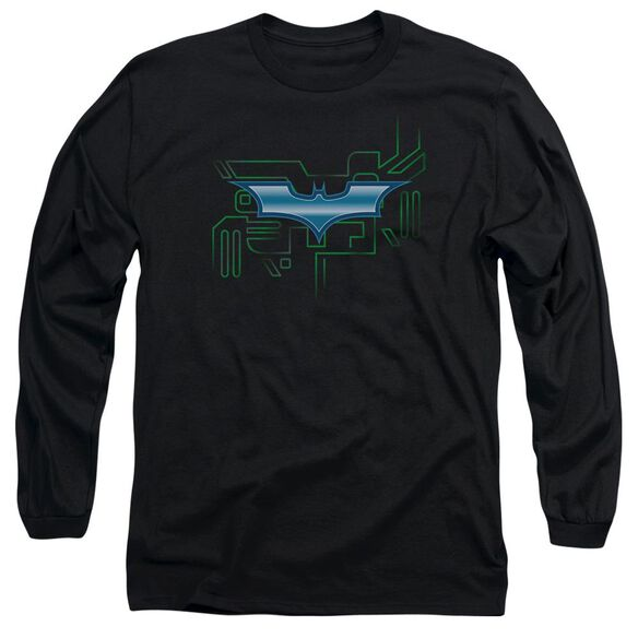 Dark Knight Tech Shield Long Sleeve Adult T-Shirt