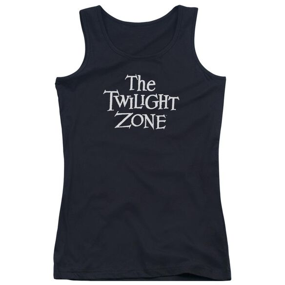 Twilight Zone Logo Juniors Tank Top