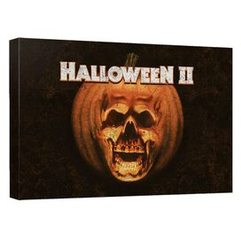 Halloween Ii Poster Canvas Wall Art With Back Board