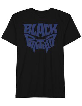 Black Panther Logo Mask T-Shirt
