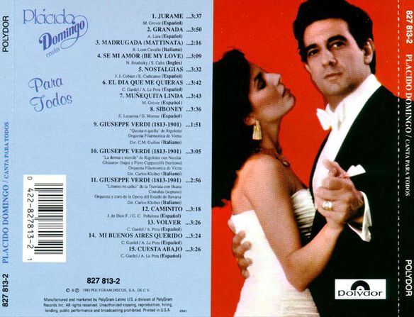 Canta Para Todos 1091