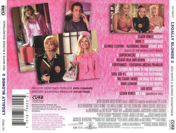 Legally Blonde 2 / O.S.T. (Mod)