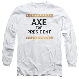 Billions Axe For President Long Sleeve Adult T-Shirt
