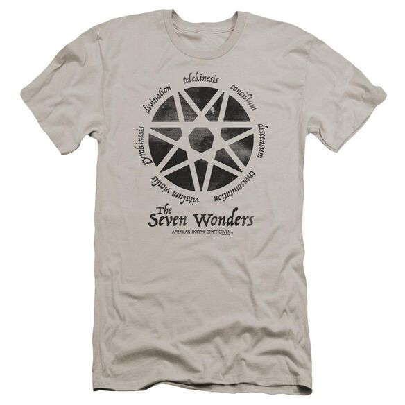 American Horror Story Seven Wonders Premuim Canvas Adult Slim Fit