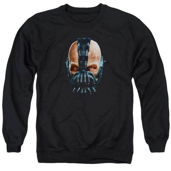 Dark Knight Rises Painted Bane Adult Crewneck Sweatshirt