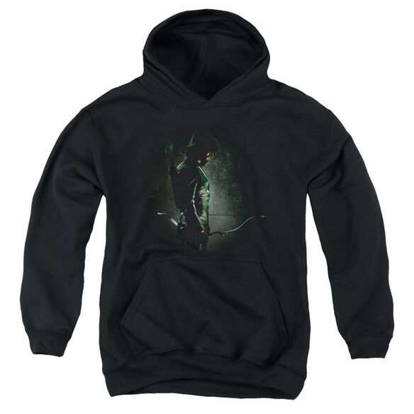 Arrow In The Shadows Youth Pull Over Hoodie