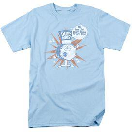 DUM DUMS DRUM MAN-S/S ADULT 18/1 - LIGHT BLUE T-Shirt