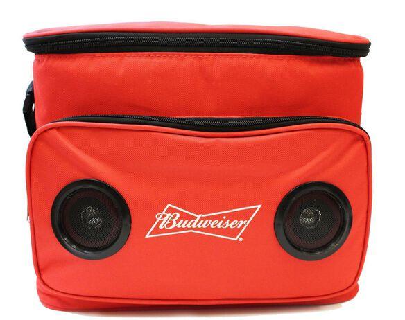 Budweiser Cooler Bag with Bluetooth Speaker