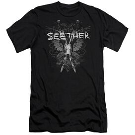 Seether Suffer Premuim Canvas Adult Slim Fit