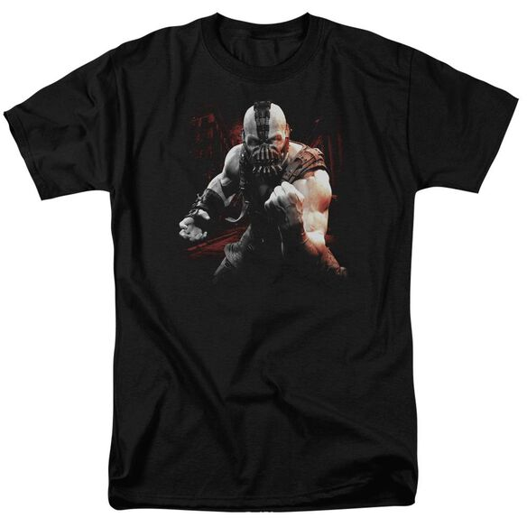 Dark Knight Rises Bane Battleground Short Sleeve Adult Black T-Shirt