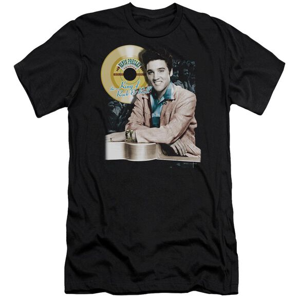 Elvis Gold Record Premuim Canvas Adult Slim Fit