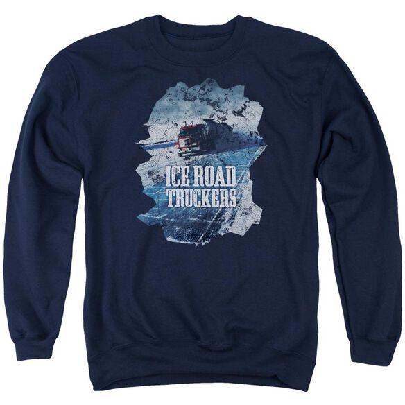 Ice Road Truckers Ice Road Adult Crewneck Sweatshirt