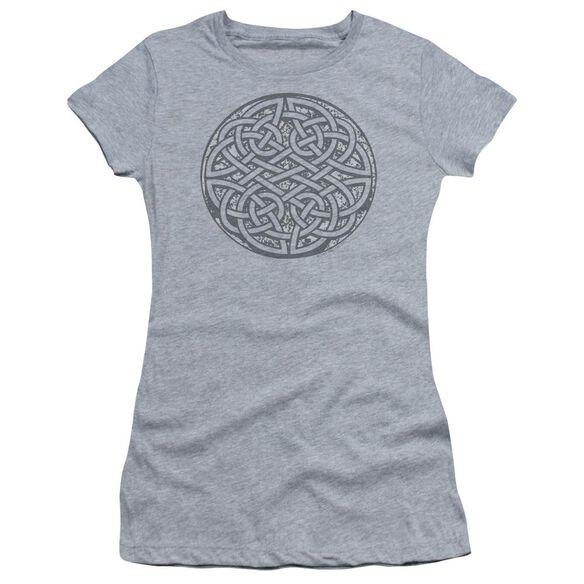Celtic Knot Short Sleeve Junior Sheer Athletic T-Shirt