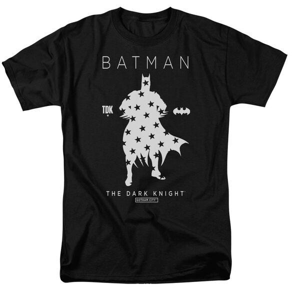 Batman Star Silhouette Short Sleeve Adult T-Shirt