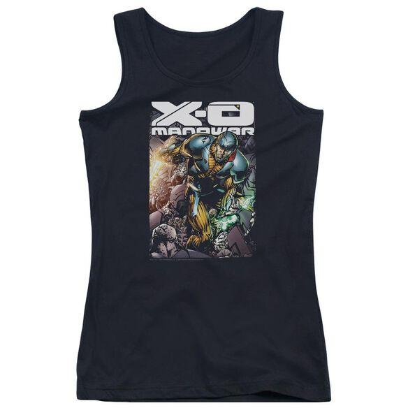 Xo Manowar Pit Juniors Tank Top