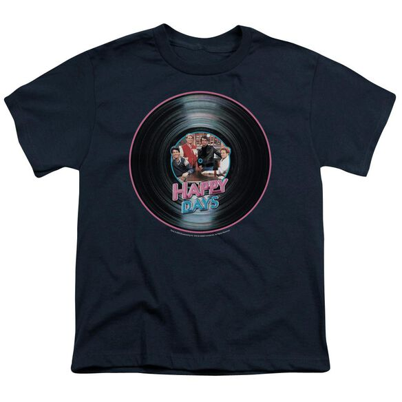 HAPPY DAYS ON THE RECORD - S/S YOUTH 18/1 - NAVY T-Shirt