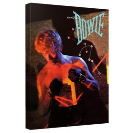 David Bowie Lets Dance Canvas Wall Art With Back Board