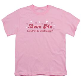 Love Me Short Sleeve Youth T-Shirt