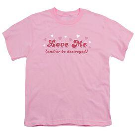 Love Me Short Sleeve Youth T-Shirt