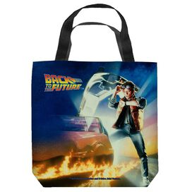 Back To The Future Bttf Poster Tote