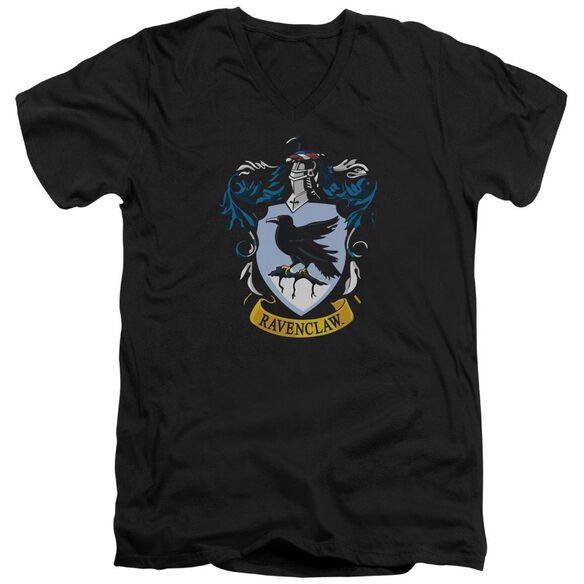 Harry Potter Ravenclaw Crest Short Sleeve Adult V Neck T-Shirt