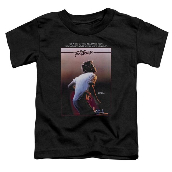 Footloose Poster Short Sleeve Toddler Tee Black T-Shirt