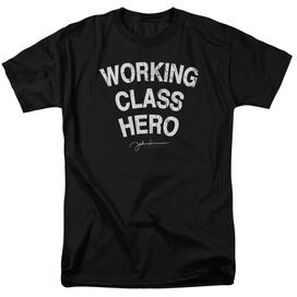 John Lennon Working Class Hero Short Sleeve Adult T-Shirt