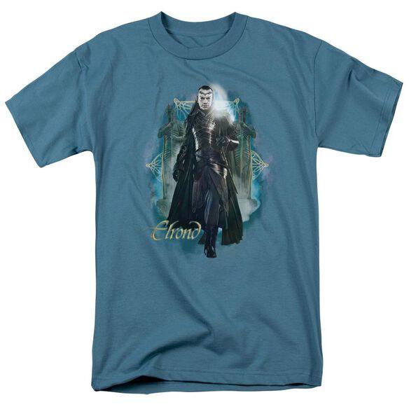 The Hobbit Elrond Short Sleeve Adult Slate T-Shirt