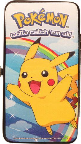 Pokemon Pikachu Rainbow Clutch Wallet