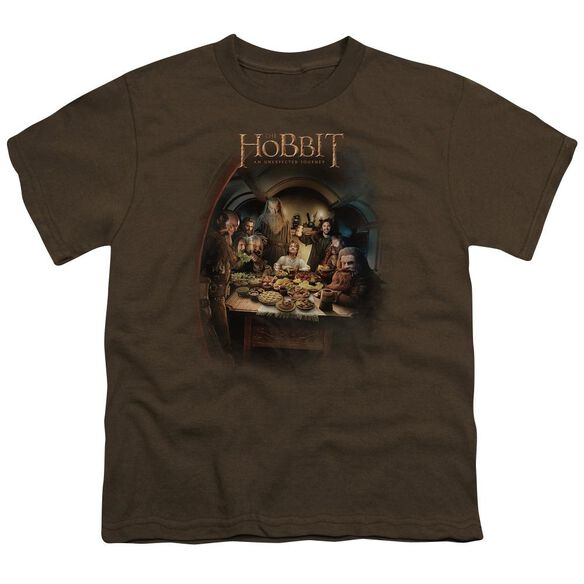 The Hobbit Feast Short Sleeve Youth T-Shirt